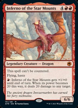Inferno of the Star Mounts