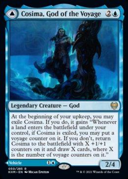 Cosima, God of the Voyage // The Omenkeel