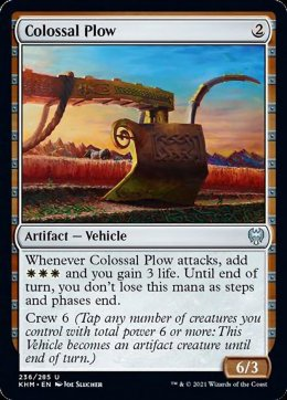 Colossal Plow
